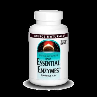 Essential Enzymes digestive 500mg (60 caps veg)