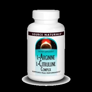 L-Arginine L-Citrulline Complex (120 tabs)