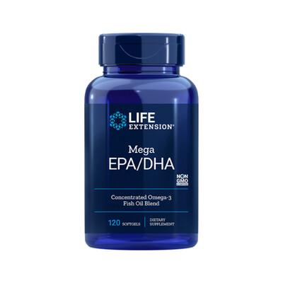 Omega-3 Mega EPA/DHA (120 softgels)