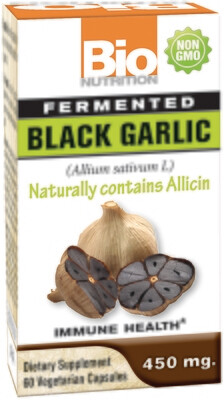 Fermented Black Garlic (60 veg. caps)