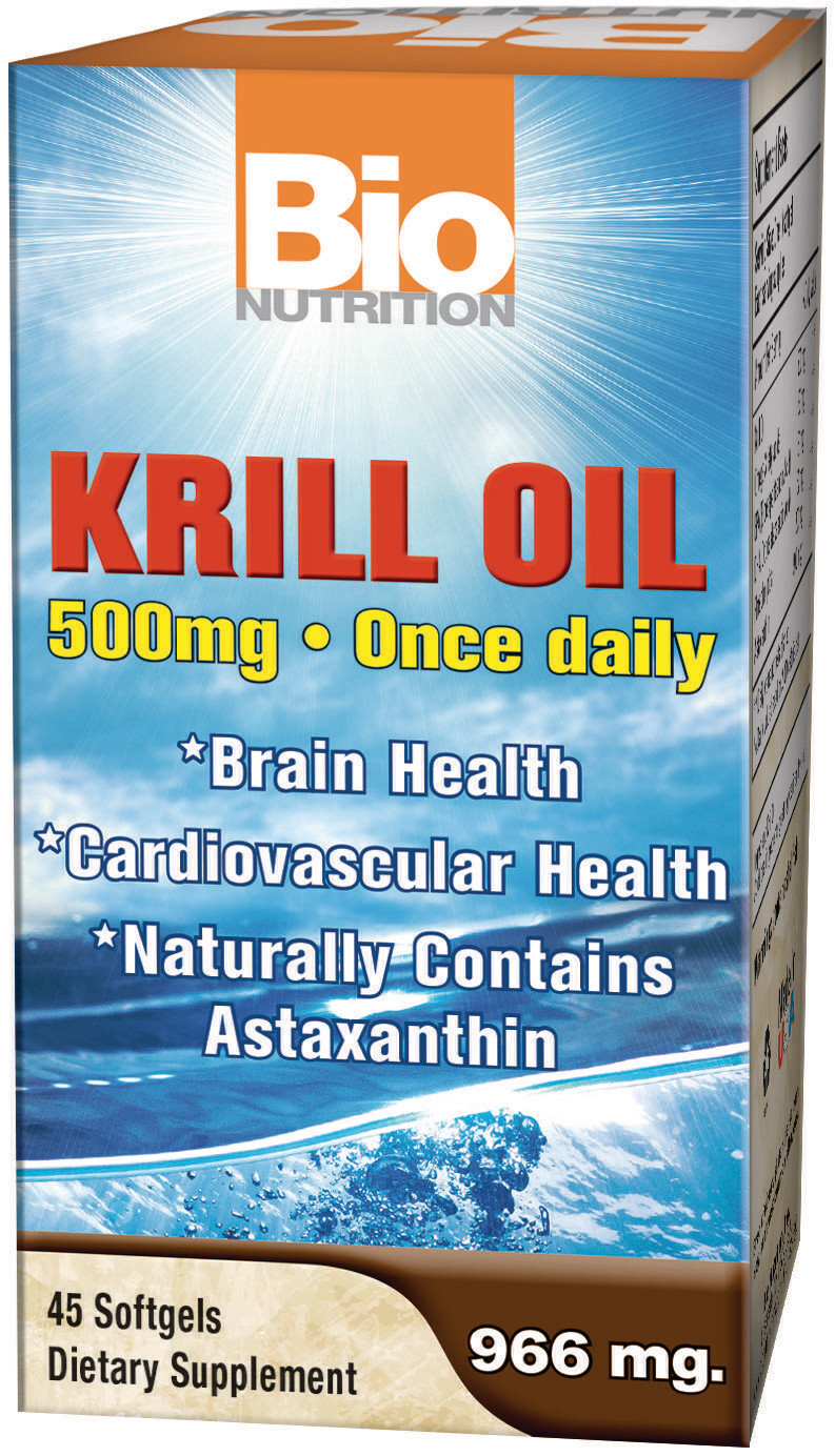 Krill Oil 500mg (45 softgels)