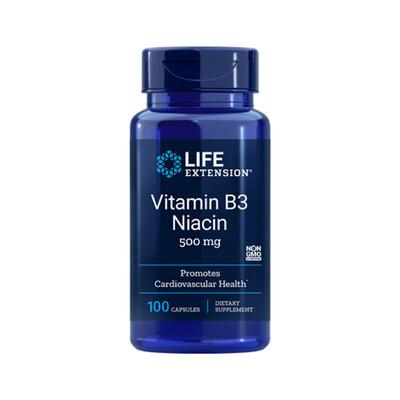 Vitamin B3 Niacin 500 mg (100 caps)