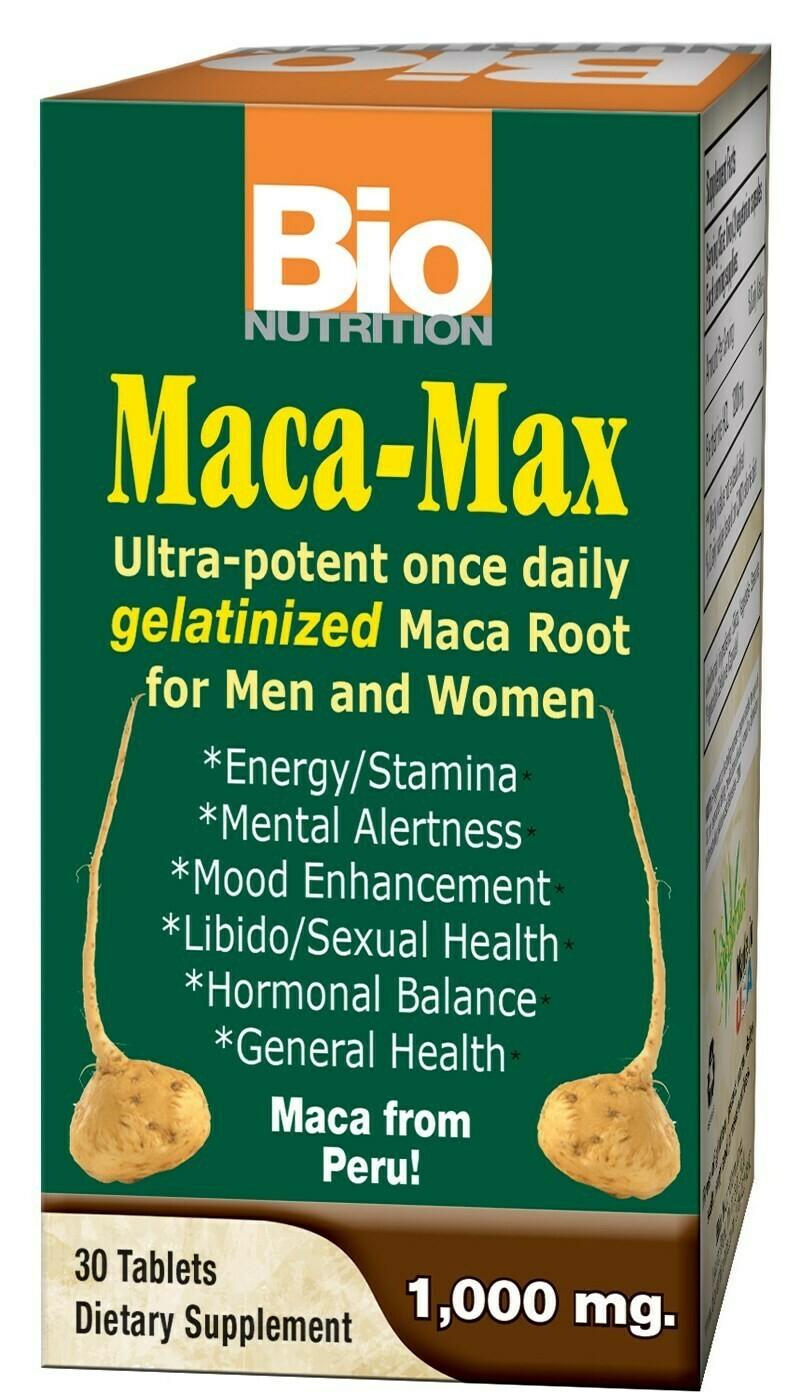 Maca-Max 1,000mg (30 tabs)