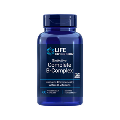 BioActive Complete B-Complex (60 veg. caps)