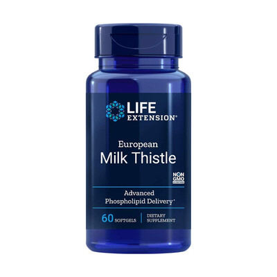 European Milk Thistle (60 softgels)