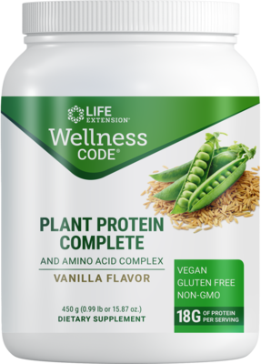 Wellness Code® Plant Protein Complete & Amino Acid Complex (450g)