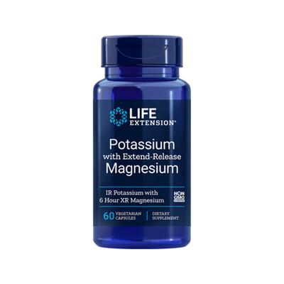 Potassium w/Extend-Release Magnesium (60 veg. caps)