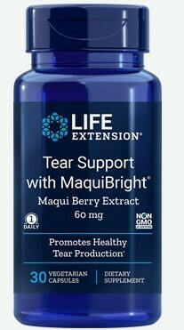 Tear Support w/ MaquiBright® (30 veg. caps)