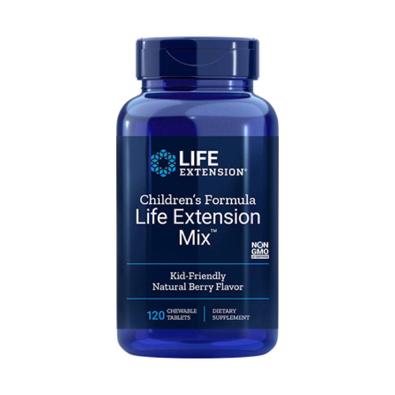 Children's Formula Life Extension Mix ™ (120 tabletas masticables)