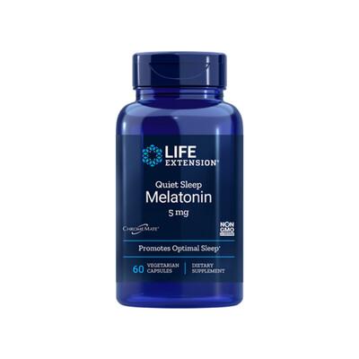 Quiet Sleep Melatonin 5mg (60 veg. caps)