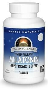 Sleep Science® Melatonin Time Release 2mg (60 tabs)