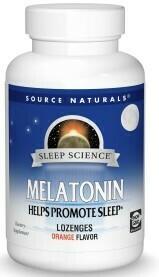 Melatonin 1mg (100 lozenges orange flavor)