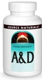Vitamin A & D (100 tabs)