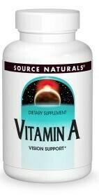 Vitamin A Palmitate 10000 (100 tabs)