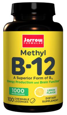 Methyl B-12 1000mcg Lemon Flavor (100 lozenges)