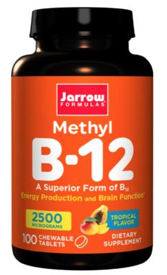 Methyl B-12 2500mcg Tropical Flavor (100 Chewable Tabs.)