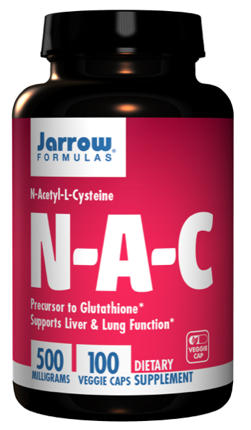 NAC (N-Acetyl-L-Cysteine) 500mg (100 caps)