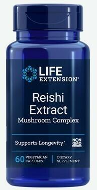 Reishi Extract Mushroom Complex (60 veg. caps)