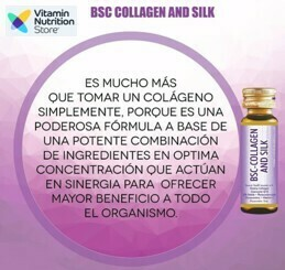 BSC-COLLAGEN AND SILK (10 Botellas)