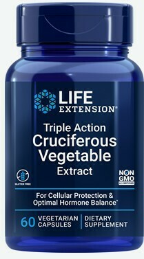 Triple Action Cruciferous Vegetable Extract, 60 vegetarian capsules