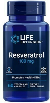 Resveratrol 100mg (60 veg. caps)