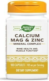 Calcium Mag & Zinc  (100 capsulas)