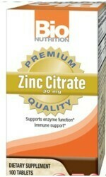 ZINC CITRATE 30mg (100  caps)