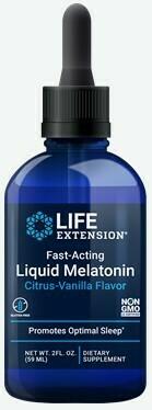 Melatonin líquida de acción rápida 3mg (Citrus-Vanilla) 2 fl oz
