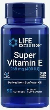 Super Vitamin E 268 mg (400 IU), 90 softgels