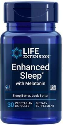 Enhanced Sleep with Melatonin (30 veg. caps)