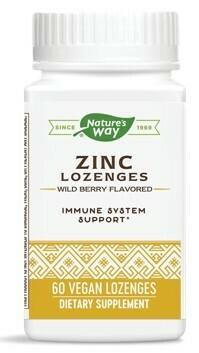 Zinc Lozenges with Echinacea and Vitamin C (60 Lozenges)