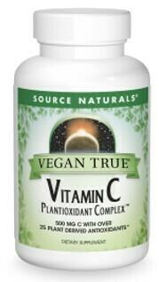 Vitamin C Plantioxidant Complex ™Vegan True®   (60 tabs)