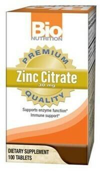 ZINC CITRATE 30mg (100  tabs)
