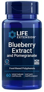 Blueberry Extract and Pomegranate (60 VEGGIE CAPS)
