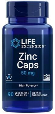 Zinc 50 mg (90 veg. caps)