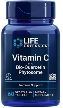 Vitamin C 1000mg w/Bio-Quercetin Phytosome (60 y 250 Tabs)