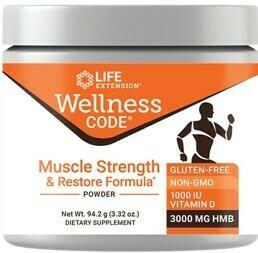 Wellness Code® Muscle Strength & Restore Formula 3.32 onzas
