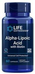 Alpha Lipoic Acid with Biotin (60 veg. caps)