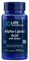 Alpha Lipoic Acid with Biotin (60 veg. caps)