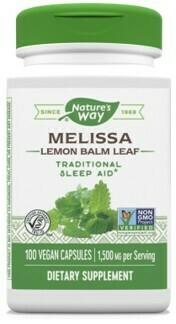 Melissa-Lemon Balm (100 capsulas)