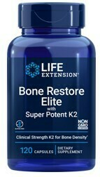 Bone Restore Elite con Super Potent K2 (120 caps)