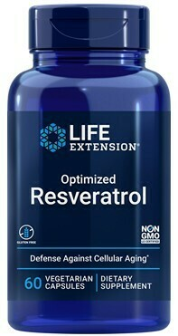 Optimized Resveratrol (60 veg. caps)