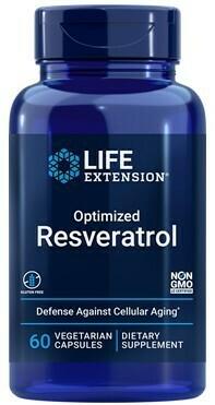 Optimized Resveratrol (60 veg. caps)