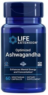 Optimized Ashwagandha Extract (60 veg. caps)