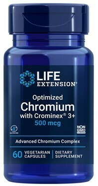 Optimized Chromium w/ Crominex® 3+ (60 veg. caps)