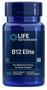 Vitamin B12 Elite 1000 mcg (60 Veg. Lozenges)