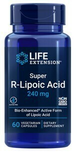 Super R-Lipoic Acid 240mg (60 veg. caps)