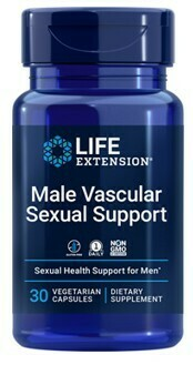 Male Vascular Sexual Support (30 veg. caps)