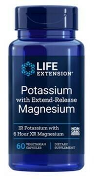 Potassium with Extend-Release Magnesium (60 veg. caps)