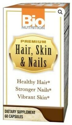 HAIR, SKIN & NAILS  (60 veg. caps)